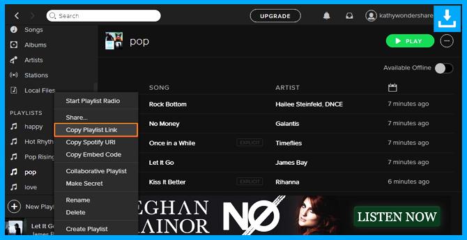 Descarga la música de Spotify directamente a iTunes copiando y pegando Playlist URL