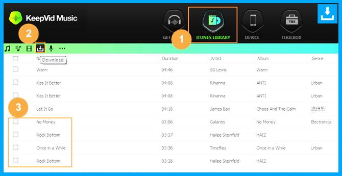 Descargar música de Spotify encuentra la lista de reproducción