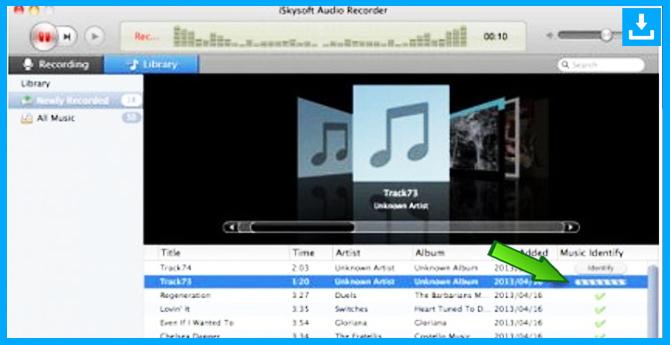 Grabador de música de iSkySoft