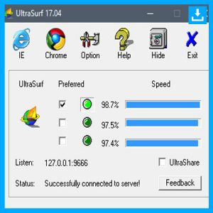 Descargar Ultrasurf para Windows