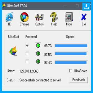 Descargar Ultrasurf paraWindows